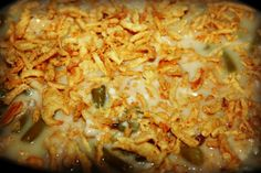 Slow Cooker Green Beans Casserole - The Sassy Slow Cooker