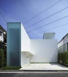 No one can do minimalism like the Japanese. Cube Court House