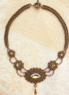 Victorian Splendor Necklace by Cielo Design, via Flickr