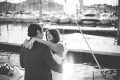 un mariage sur un voilier à Marseille par Laurent Brouzet