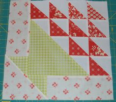 Basket of Flowers Basket of Flowers is a 5 patch block. Which means there are 5 patches across and down. Because we are making a . Quilt Block Patterns, Pattern Blocks, Pattern Ideas, Quilting Tutorials, Quilting Projects, Farmers Wife Quilt, Pie In The Sky, Star Quilt Blocks, Basket Quilt