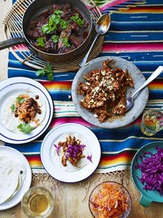 Ever wanted to know how to make mole sauce and tacos from scratch? This Mexican classic – Chicken mole – is the perfect dish to feed a crowd. Get stuck in! Jamie Oliver, Mole Sauce, Pickled Cabbage, Feeding A Crowd, Fennel Seeds, Chicken Tenders, Mexican Food Recipes, Savoury Recipes, Mexican Cooking