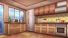 Escena Anime Cocina
