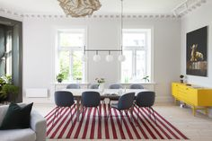 Historical apartment in Oslo, Norway // By Romlaboratoriet AS // Photo: Elisabeth Aarhus Aarhus, Oslo, Norway, Conference Room, Table, Projects, Furniture, Design, Home Decor