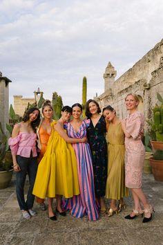 Vogue wedding - Jewelry Designer Caitlin Mociun Wore Bold Stripes for Her Puglia Wedding – Vogue wedding Vogue Wedding, Look Fashion, Fashion Tips, Fashion Poses, Classy Fashion, Fashion Editorials, Men Fashion, High Fashion, Fashion Trends