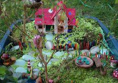 The Magic Onions :: A Waldorf Inspired Blog: Winner Spotlight :: Fairy Garden Contest 2012