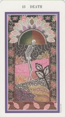 Death, Tarot Card    This is a pretty, calming death depiction