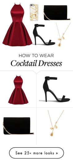 """""""Date night"""" by valerie18-1 on Polyvore featuring Forever 21, L.K.Bennett and Casetify"""