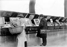 Secondhand booksellers on the quays of the Seine, Pictures | Getty ...