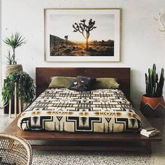 Decoration Bedroom - Bright Idea - Home, Room, Furniture and Garden Design Ideas Decoration Bedroom, Decoration Design, Home Decor Bedroom, Wall Decorations, Decor Room, Cute Dorm Rooms, Bohemian Style Bedrooms, Bohemian Decor, Bohemian Interior