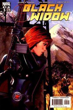 Black Widow Vol. 4 # 5 by Greg Land & Matt Ryan