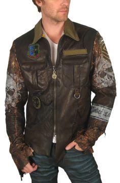 JUNKER DESIGNS - PANZER Custom Leather Jacket