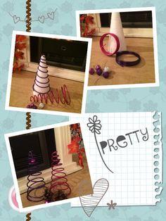 Weihnachtsbäume etwas kreativer und sehr bunt...