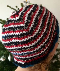 New technique for me - of course I had to try - and here's a new hat again - very helpful tut!