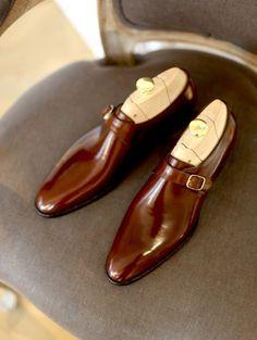 Noble Custom Clothier — downeastandout: Wholecut monkstraps - Masaru...