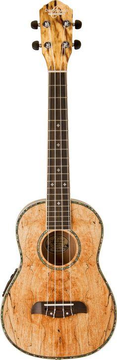 I think this'll be my next uke.Oscar Schmidt Spalted Mango TENOR Acoustic/Electric Ukulele, OU7TE