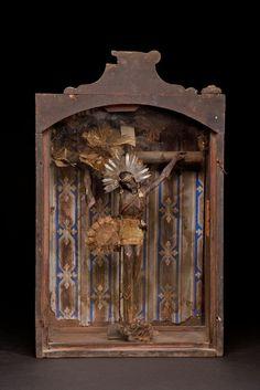 Christ figure, nicho~Image © Tribal Art Collections
