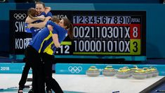 Sweden ends Korea's Cinderella curling run with gold medal win Olympia, Women's Curling, Team Usa, Bad Timing, Winter Olympics, Curls, Cinderella, Korea, Baseball Cards