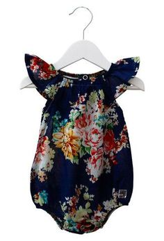 Scout KIDs Romper in Chelsea Navy by Sweet Child Of Mine at The Freedom State