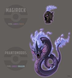 Second entry to the A Different Type of Pokemon Contest. Ghost Magikarp and Gyarados Gen 1 Pokemon, Lucario Pokemon, Pokemon Fake, Ghost Pokemon, Pokemon Fusion Art, Pokemon Fan Art, Creepy Pokemon, Pokemon Stuff, Pikachu