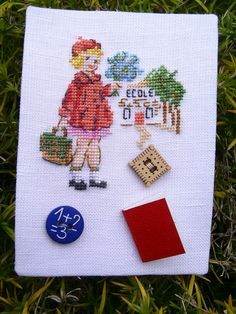 Le Point, Atc, Needlework, Blog, Cross Stitch, Quilts, Embroidery, Motifs, Vintage