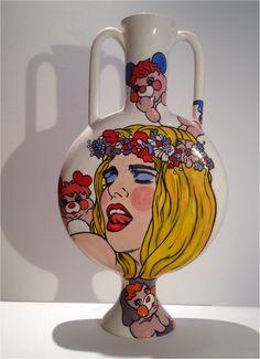 #cicciolina #ceramics #art #collector #desing #contemporany #artist #handmade #sexy #arte
