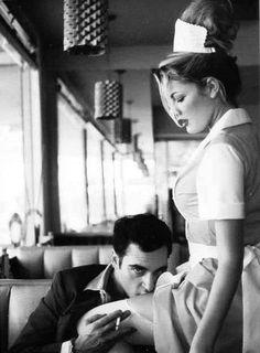 Joaquin Phoenix by Helmut Newton
