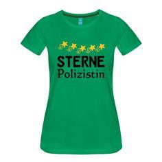 Sterne Polizistin - tolle Shirts und Geschenke für ausgezeichnete Polizistinnen. #sterne #auszeichnung #fünfsterne #polizist #polizisten #polizei #polizistin #berufe #shirts #geschenke