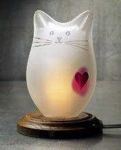 lamp kitty love