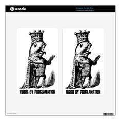 #fishing - #King fish:  Error by Proclamation Kindle Fire Skins