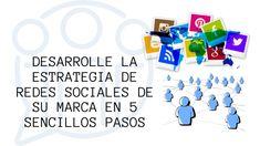 Desarrolle la estrategia de redes sociales de su marca (en 5 sencillos pasos) La Red, Logos, Socialism, Design Logos, Simple, Social Networks, Logo