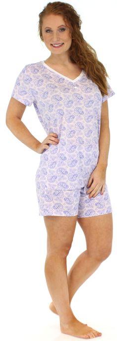 Brand New Ladies Pyjamas Shortie Pjs Set Size Large 14//16 Bananas Design Hols
