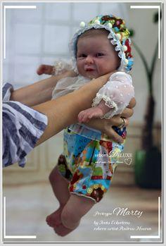Love!!! ❤️ Prototype Marty by Iveta Eckertova  #prototype  #artwork #rebornbaby #art #babyboy #kunst #newborn #newbornphotography #reallife  #skintone #coloring #painting #doll #reborndeluxe #andreaheeren  Www.reborn-deluxe.com