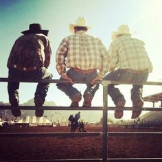 real men ride rodeo