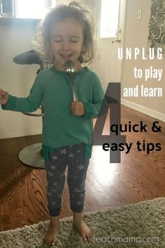 It's time to have our kids unplug.   Yep. Right now. Right this very minute.  Guess what? You'll survive. And they'll survive. In partnership with @KinderCare Learning Centers, I'm sharing some tips on how to unplug. You may be surprised at how much fun your kids, and you, have during unplugged time together!  #teachmama #unplug #playandlearn #learnandplay #unplugandlearn #ad #kindercare #kidsactivities #activitiesforkids #indoorfun #letkidsplay #letkidsbekids