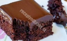 Flourless Chocolate Cake with Chocolate Glaze - Reposteria - Delicious Cake Recipes, Easy Cake Recipes, Sweets Recipes, Yummy Cakes, Yummy Food, Desserts, Food Cakes, Cupcake Cakes, Chocolate Olive Oil Cake