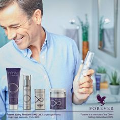 Skincare targeted to combat skin ageing - Aloe Vera plus other superb ingredients. For men and women - you can find Infinite in my online at https://shop.foreverliving.com/retail/entry/Shop.do?store=GBR&distribID=440000346921&language=en Take a look! #skincare