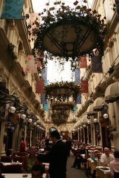 Flower Passage in Taksim, Istanbul Cool Places To Visit, Places To Travel, Places To Go, Most Beautiful Cities, Beautiful World, Visit Turkey, Turkey Travel, Rue, Vacation Trips