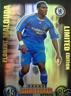 Topps Match Attax 2007-2008 Florent Malouda Limited Edition Trading Card