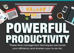 The greatest time management techniques that help you get tasks done and be productive.