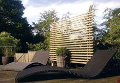 Jardin, terrasse : panneaux brise-vue pour se cacher des voisins - CôtéMaison.fr