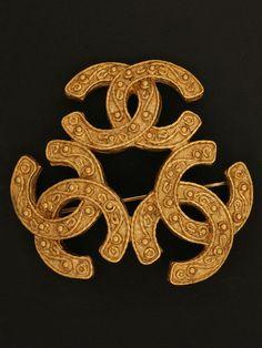 Vintage Chanel brooch.