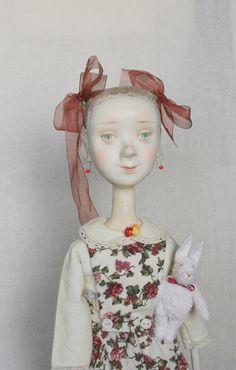 "Art Doll ""The Girl Ania Maikina"" OOAK"