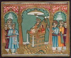 A portrait of the Maharaja of Mysore Mysore Dasara, Raja Ravi Varma, Mysore Painting, Mysore Palace, Indian Paintings, Indian Art, Persian, Folk, The Past