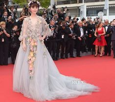 Fan Bing Bing in Marchesa at the 2015 Cannes Film Festival