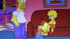 No vives de ensalada (Los Simpson)