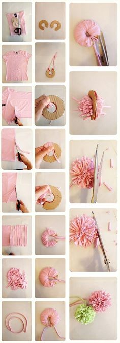 Make some cute pom-poms.