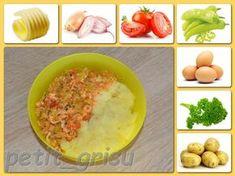 Lečo s brambůrkem (8m) Okra, Mashed Potatoes, Ethnic Recipes, Desserts, Food, Whipped Potatoes, Tailgate Desserts, Deserts, Gumbo