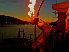 Viking Funeral. Los Angeles Burials at Sea