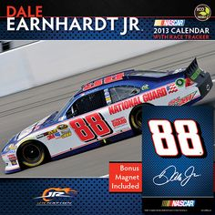 and the celebrated car fill the pages of this perennial fan-favorite, officially licensed deluxe wall calendar. Nascar Cars, Nascar Racing, Racing Team, Auto Racing, June Bug, Rednecks, Jeff Gordon, Dale Earnhardt Jr, Motor Sport